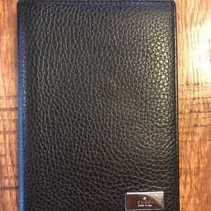Gucci Full Grain Leather Passport Case